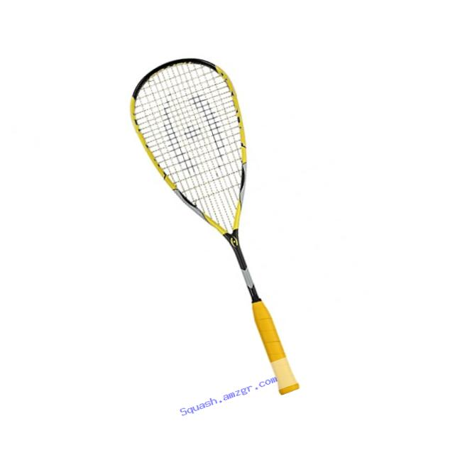 Harrow 65790215 2016 Shock Squash Racquet, Black/Yellow