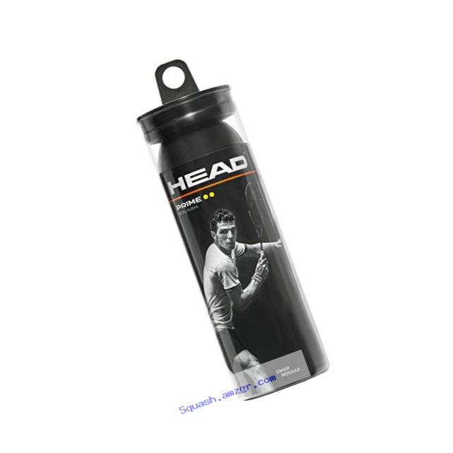 HEAD Prime Squash Balls, 3-Ball Tube
